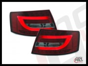 Lampy tylne LED Audi A6 C6 lim. 04-08 LIGHTBAR red/smoke 6P