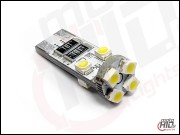 W5W T10 LED Canbus 8xSMD 3538 white 6000k