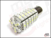 BAY15d P21W/5W 120xSMD 3538 Dual Color White+Orange