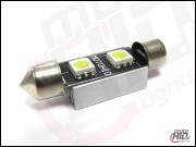 C5W C10W 2xSMD 39mm CAN BUS RADIATOR biała 6000k