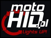 Lepka MotoHID Lights Up! , 9x6, White/Red mała