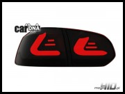 carDNA lampy tylne LED VW Golf VI LIGHTBAR black red smoke