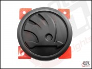 Emblemat / logo Skoda Octavia 3 Front / Rear 90mm  KOLOR Matt Black