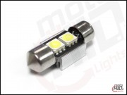 C5W 2xSMD 31mm CAN BUS RADIATOR biała 6000k