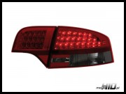 Lampy tylne LED Audi A4 B7 sedan 04-08 Red / Smoke