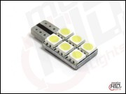 W5W / T10 LED 6xSMD 1S NP 6000k Canbus