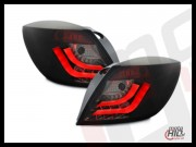 Lampy tylne LED Astra H GTC  LIGHTBAR black-smoke