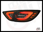 Lampy tylne LED MAZDA CX-5 lightbar 12+ Gold/Smoke