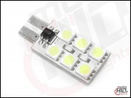 W5W / T10 LED 12xSMD 5050 2S 5500k NP NC
