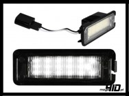 LED Lampki rejestracji VW EOS, Golf 4-5-6, Lupo, Beetle,  Passat 3C,  Polo 9N, Phaeton, Scirocco