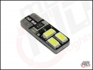 W5W LED Can Bus 6xSMD 2S 5630 Epistar biała 4700k