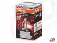 Palnik Xenon D3S OSRAM XENARC 66340XNB 35W NIGHT BREAKER UNLIMITED 4300K +70%