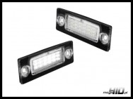 LED Lampki rejestracji VW Passat, Caddy, Golf V Plus, Touran, T5, Superb