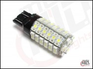 T20 dual beam W3x16q W21/5W LED 120xSMD 3538 Dual Color White+Orange
