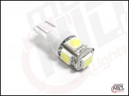 W5W / T10 LED 5xSMD 5050 white 4300k NC