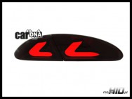 carDNA lampy tylne LED Seat Leon LIGHTBAR 05-09 1P red/smoke