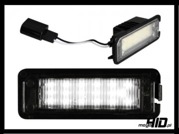 Led Lampki Rejestracji Vw Eos Golf 4 5 6 Lupo Beetle Passat 3c Polo 9n Phaeton Scirocco