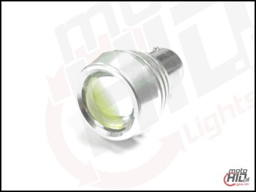 BA15s (1156)  3WL High Power LED 3W Clear Lense biała 6000k