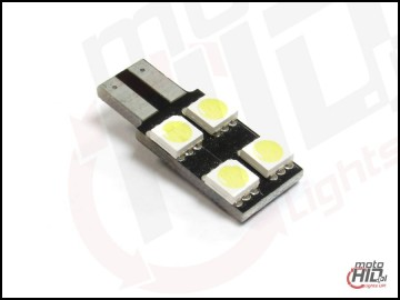 W5W T10 LED 4xSMD 1S 6000k canbus