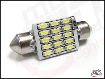 C5W C10W 15xSMD 39mm CAN BUS RADIATOR biała 5000k