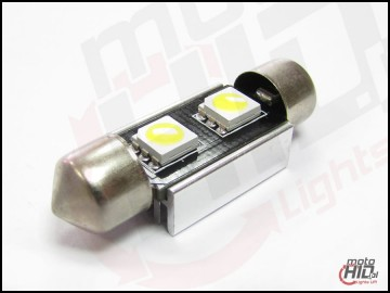 C5W C10W 2xSMD 36mm CAN BUS RADIATOR biała 6000k