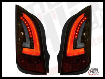 Lampy tylne LED VW UP! Skoda Citigo LIGHTBAR 11+ Gold / Smoke