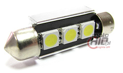 led c5w 39 mm 3x SMD 5050 canbus