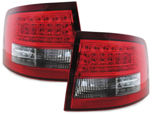 Lampy Tylne Led Audi A6 C5 Avant 4b 1297 105 Redclear