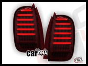 carDNA lampy tylne LED Dacia DUSTER 09+ LIGHTBAR red / smoke
