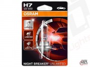 OSRAM Night Breaker Unlimited H7 12V 55W  (1szt) Blister