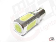 BA15s (1156) Power LED 5x1.5W biała 6000k