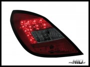 Lampy tylne LED Opel Corsa D 5D Red/Smoke