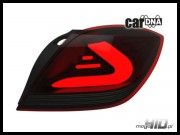 carDNA lampy tylne LED Astra H GTC  LIGHTBAR black-red-smoke