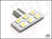 T10 LED 6xSMD 1S 6000k NP NC