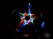 LED Solar Wheel Light W03 Multicolor