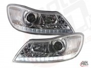 Skoda Octavia 2 FL Lampy LED DRL 2008+ Chrome
