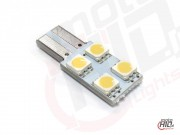 W5W T10 LED 4xSMD 1S 4000k canbus LV