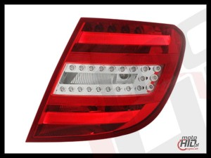 Lampy Tylne LED Mercedes W204  T-Modell 06-10 Red / Crystal