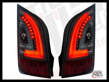 Lampy tylne LED VW UP! Skoda Citigo LIGHTBAR 11+ Smoke